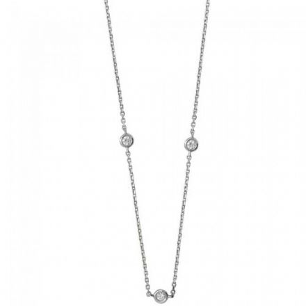 Diamond Necklace, NDQ103W
